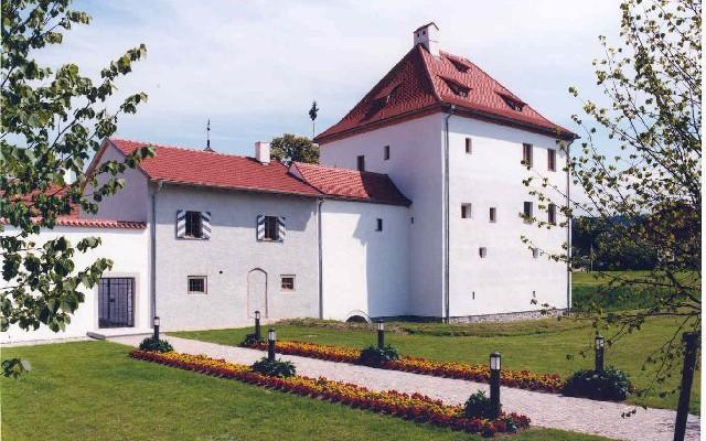 Das Schloss von aussen